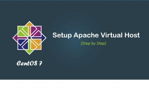 How to set up Apache virtual hosts in CentOS 7 ?