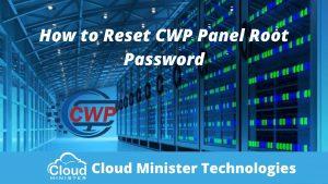 Reset CWP