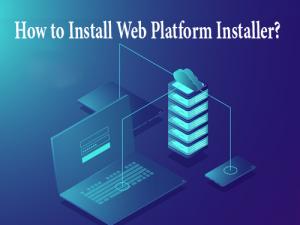 install Web Platform Installer