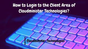 Login the Client Area